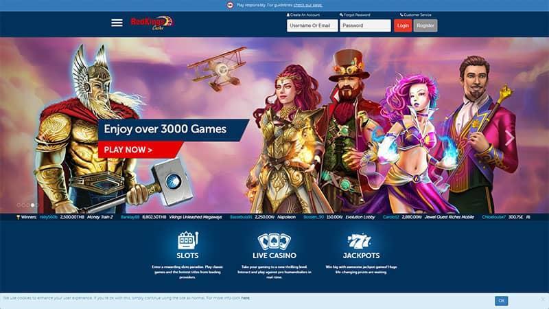 redkings lobby screenshot