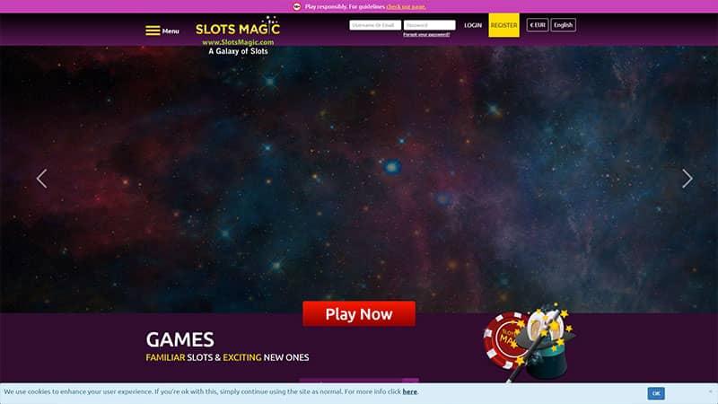 slotsmagic lobby screenshot