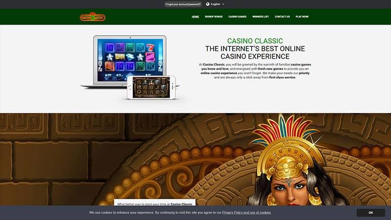 casino classic lobby screenshot