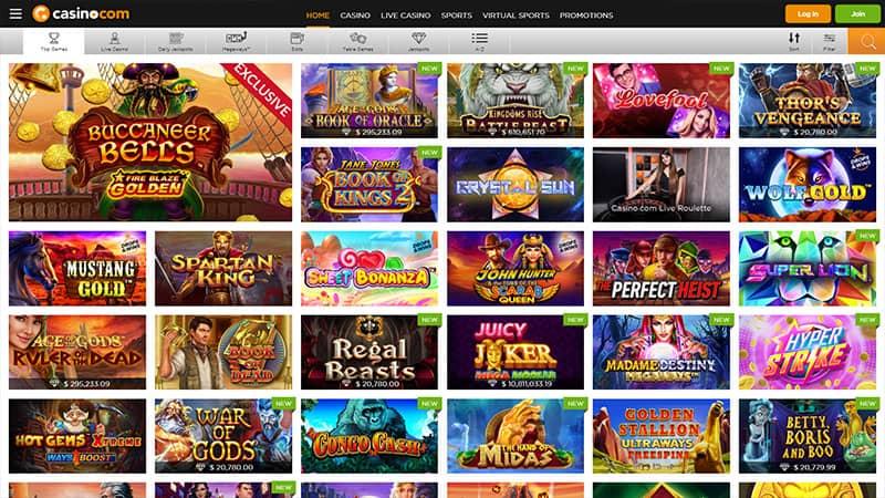 casino com lobby screenshot