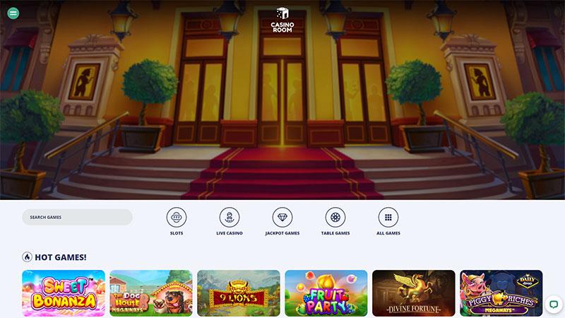 casino room lobby screenshot
