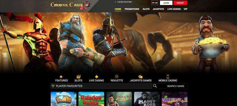 Conquer casino screenshot