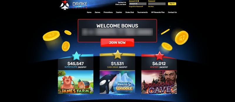 Drake casino screenshot