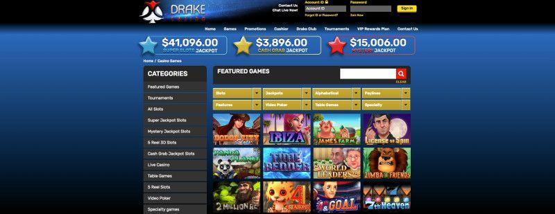 Slots at drake casino