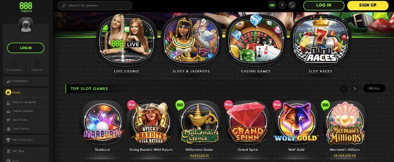 888 Casino Exclusive 120 Up To 300 In Bonus 50 Bonus Spins