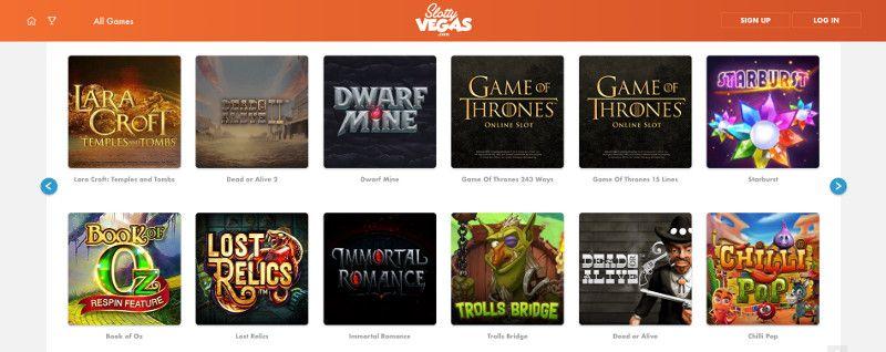 Slotts at Slotty Vegas