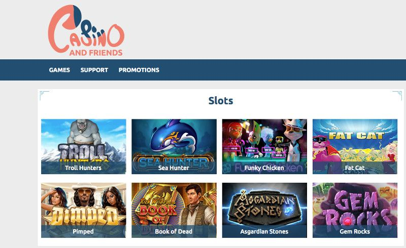 Slots at Casino and friends