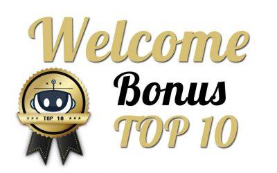 Top 10 welcome bonuses