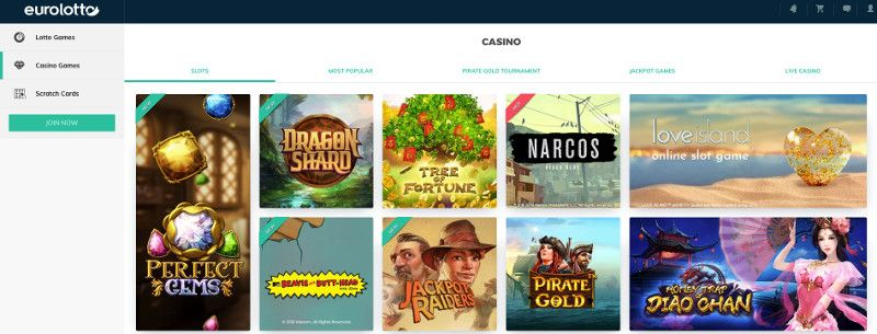 Eurolotto casino games