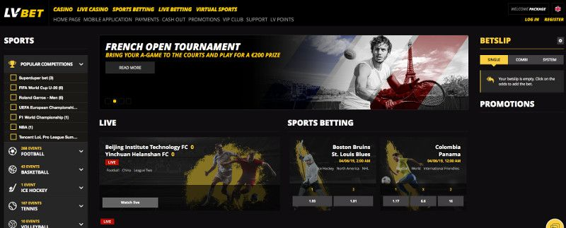 LV bet Sports Betting