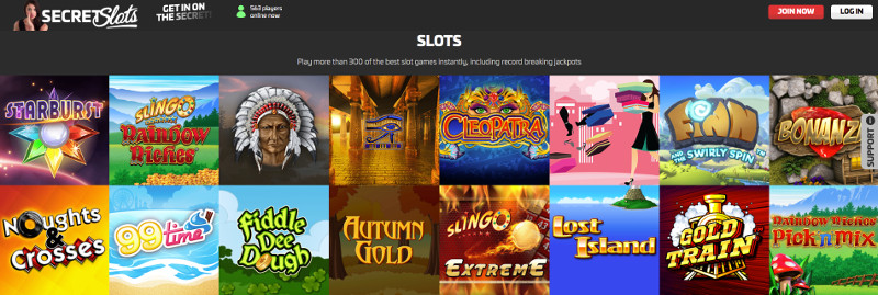 Slots at Secret slots