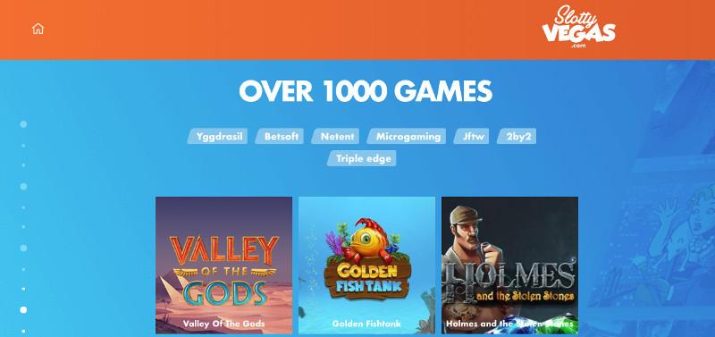Slotty Vegas screenshot