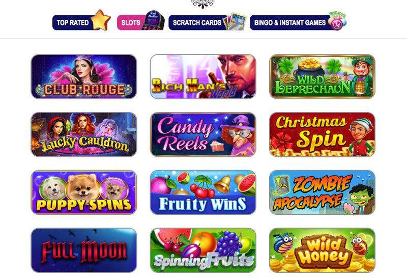 Slots at Winorama Casino