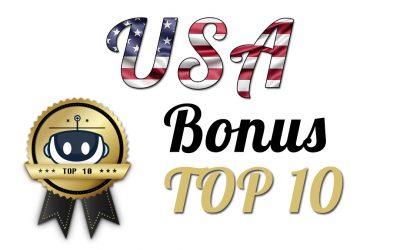 Top 10 USA Bonuses