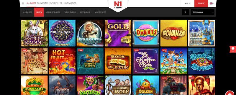 Slots at N1 Casino