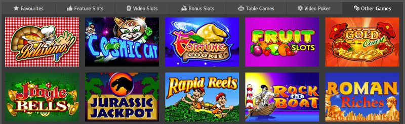 Keno and other casino games at LSbet