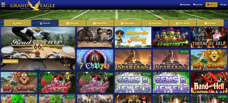 Grand eagle casino screenshot