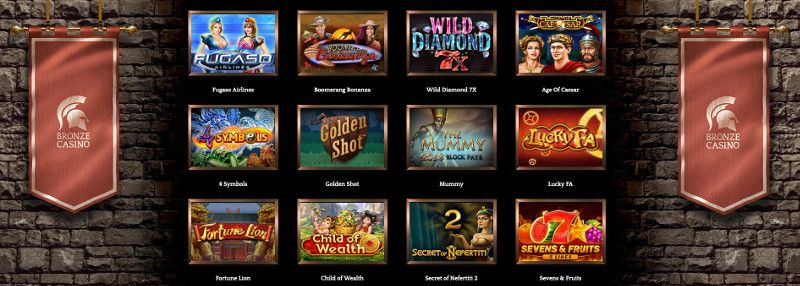Bronze Casino 2020 Bonuses Review Casino Help