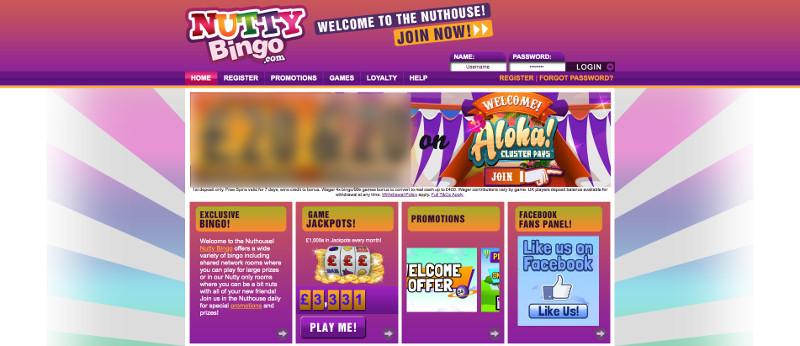 Nutty bingo screenshot