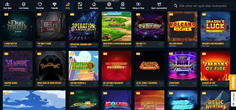 Slots at Dream Vegas casino