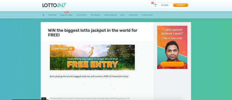 Lotto247 screenshot