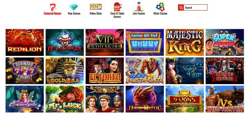 14Red casino screenshot