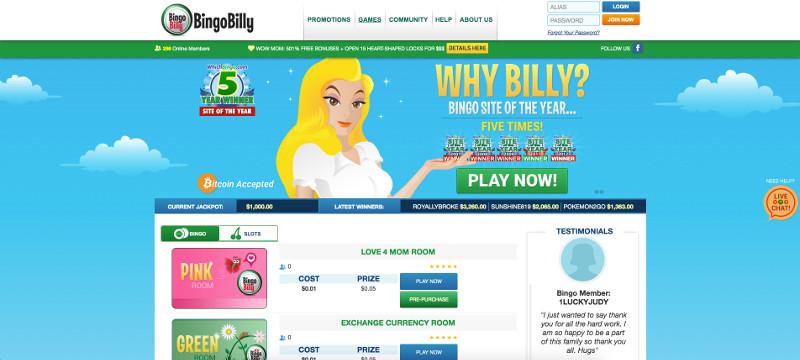 Bingobilly screenshot