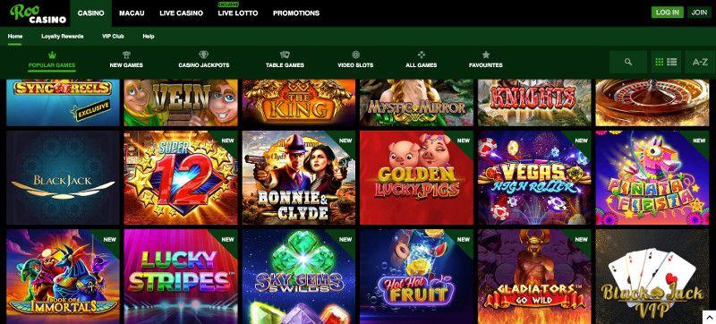 Roo Casino screenshot