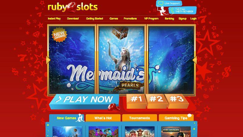 Ruby slots casino screenshot