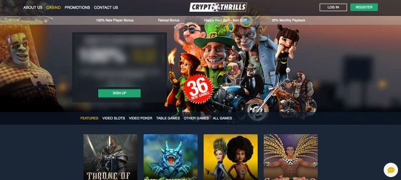 Cryptothrills Casino 2020 Bonuses Review Casino Help