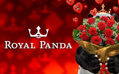 Royal Panda Valentines day promotions