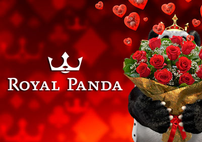 Royal panda valentine promotions