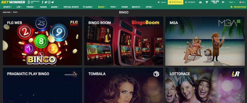 Bingo at Betwinner