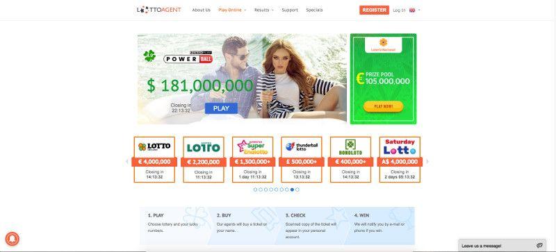 Lotto Agent screenshot