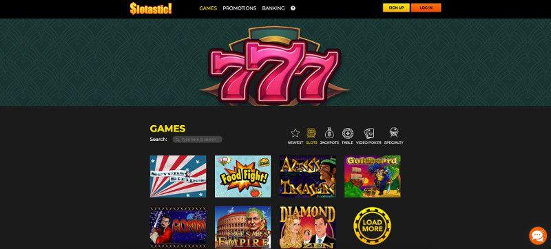Slots at Slotastic casino