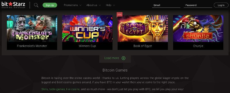 Bitcoin games at Bitstarz