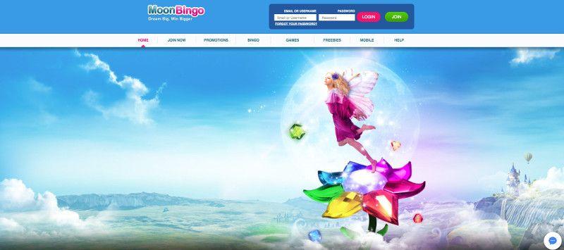 Moon bingo screenshot