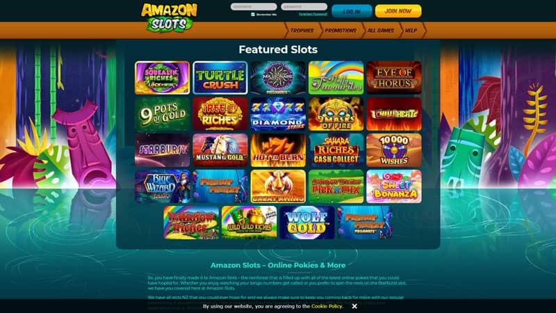 amazon slots lobby screenshot