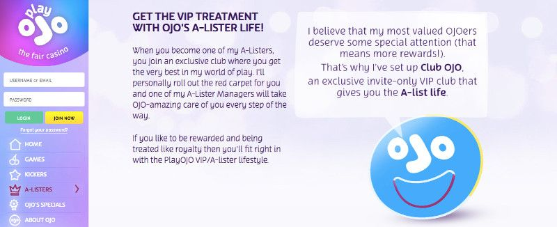 "VIP ""A-lister"" at Play OJO"