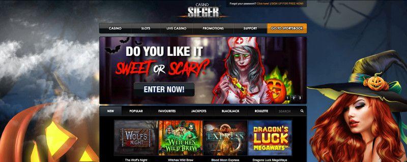 Casino Sieger screenshot