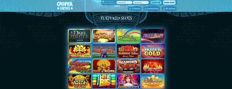 Casper Games screenshot