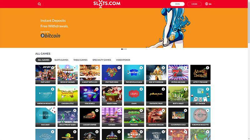 slotscom lobby screenshot