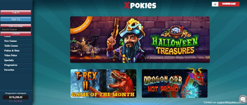 Xpokies screenshot