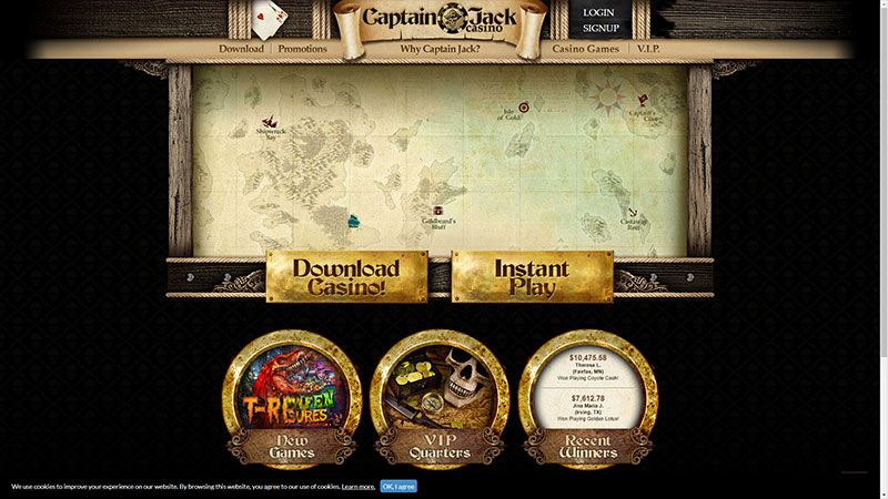 captain jack lobby screenshot
