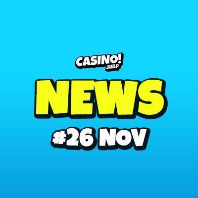 Casino.help daily news 2019-11-26