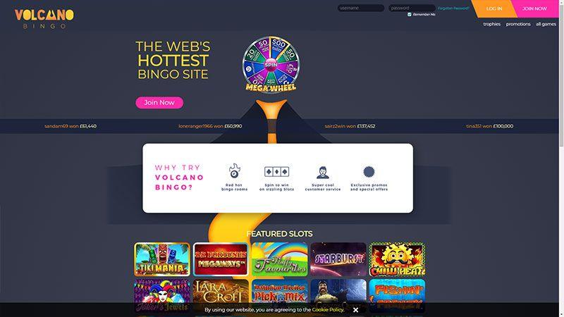 Volcano Bingo 2020 Bonuses Review Casino Help