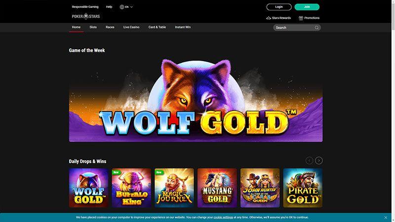 pokerstars lobby screenshot
