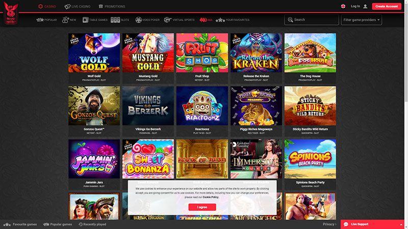 royalrabbit lobby screenshot