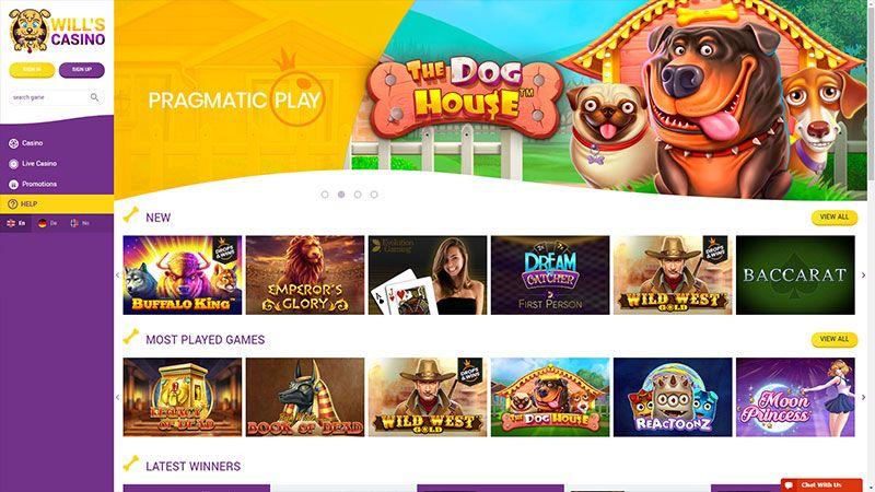 wills casino lobby screenshot