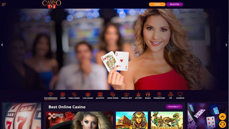 casino765 lobby screenshot